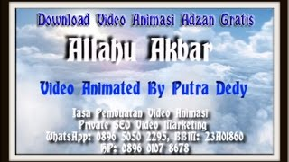 Gratis Download Video Suara Adzan Paling Merdu Sedunia !