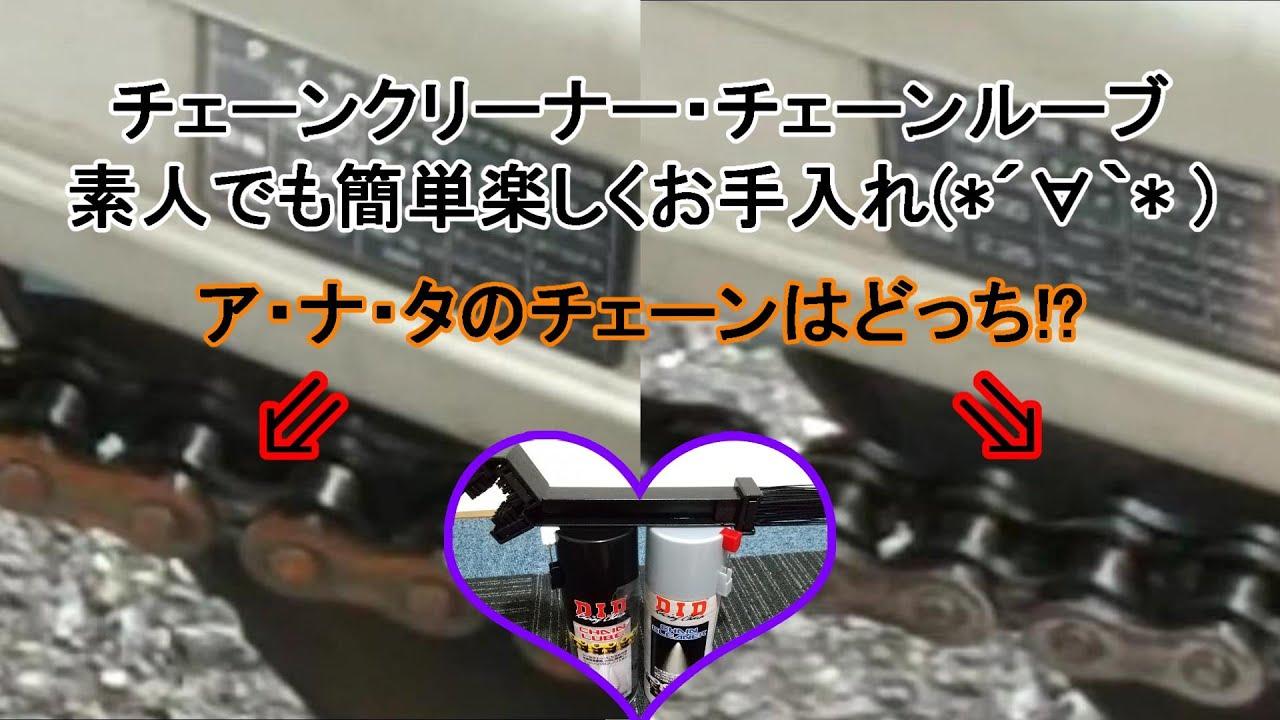【バリオス2】チェーン整備が楽しくなるアイテム(*´∀`*)【整備】
