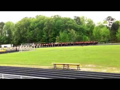 Bethel Park High School Marching Band - Virginia Beach 2015