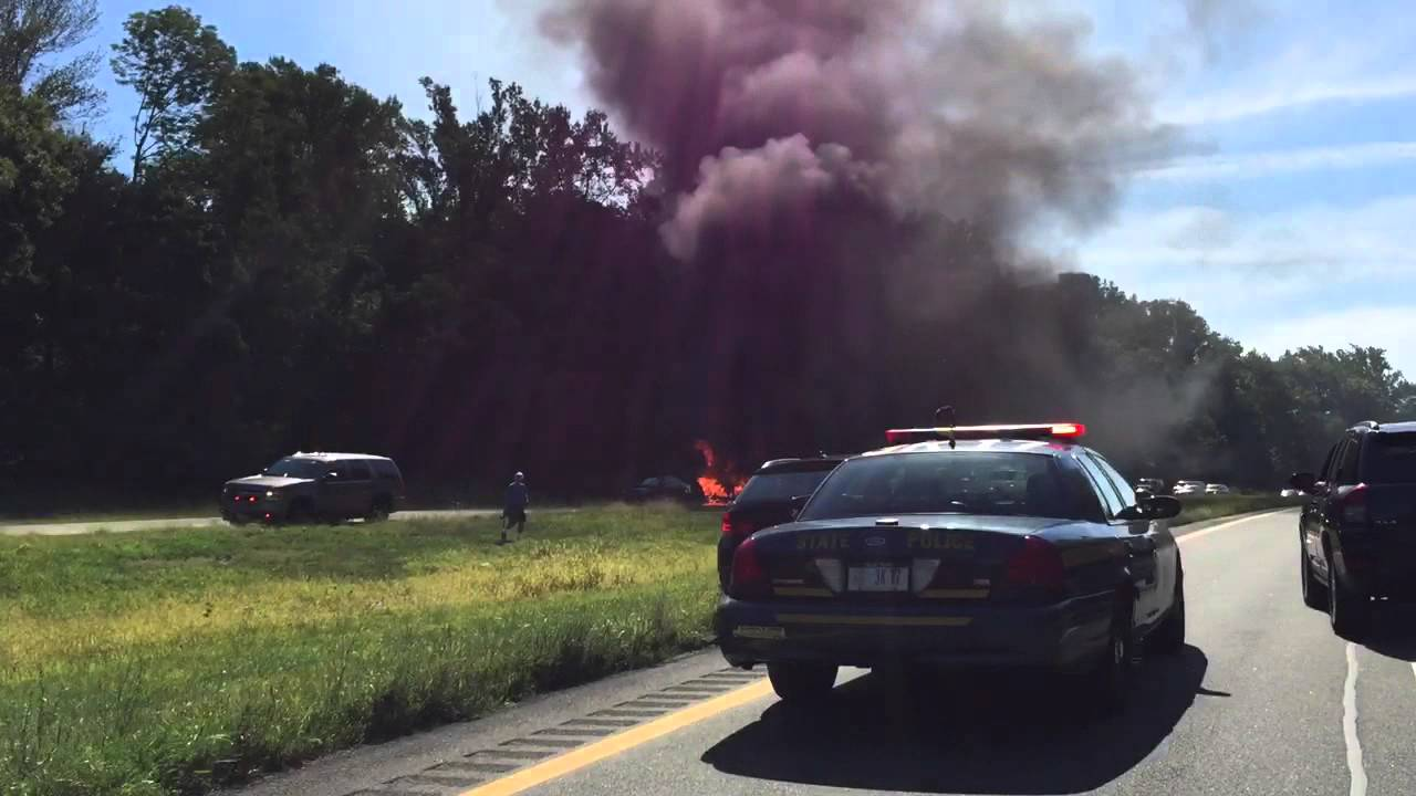 Car Accident in the Taconic State Parkway - YouTube