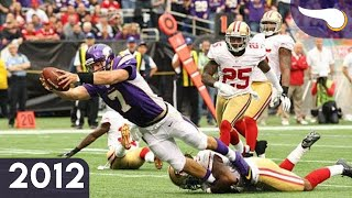 Niners Can't Contain Ponder - 49ers vs. Vikings (Week 3, 2012) Classic Highlights