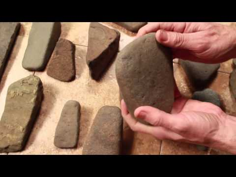 Indian stone tools Indian artifacts, how to identify ancient