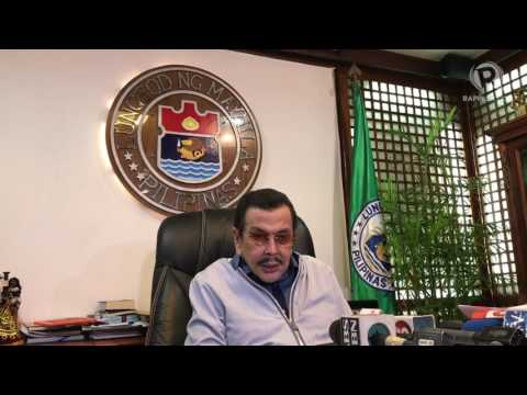 "Manila mayor Joseph ""Erap"" Estrada says he supports martial law in Mindanao"