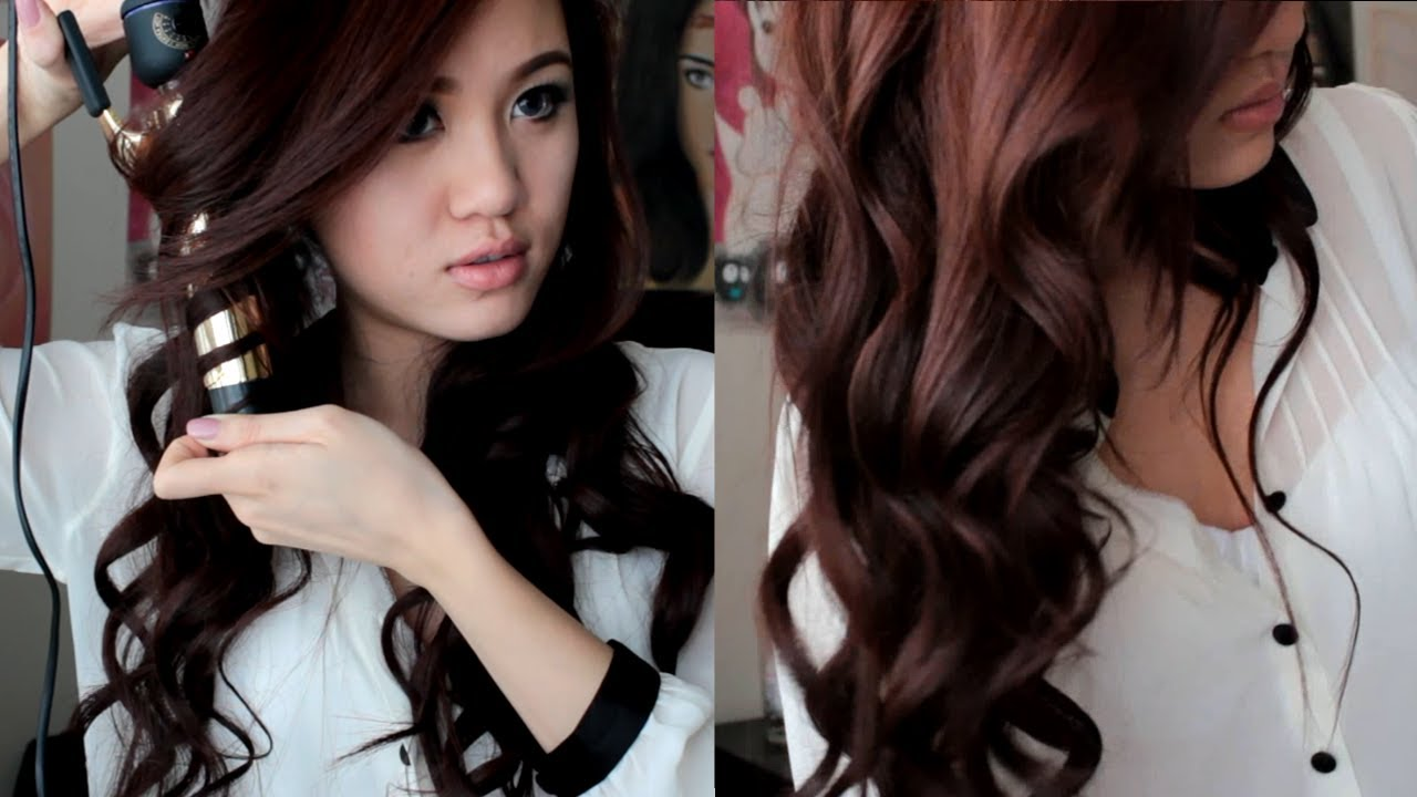 Wavy Hair Styling: Soft Romantic Curls Hair Tutorial