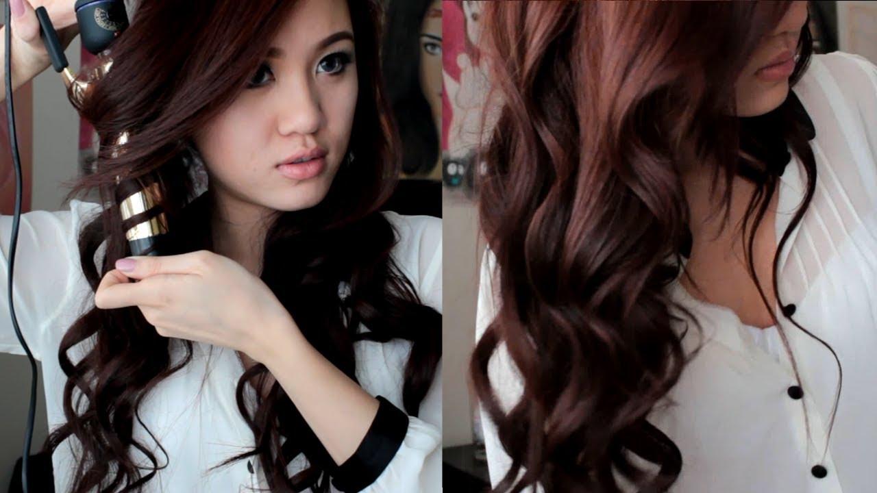 soft romantic curls hair tutorial