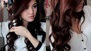 Soft Romantic Curls Hair Tutorial