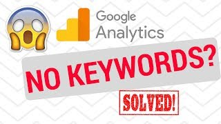 SOLVED Google Analytics keywords not provided...