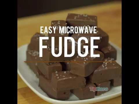 Easy Microwave Fudge
