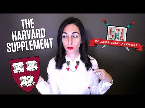 Guide to the 2017-2018 Harvard University Supplemental Essay