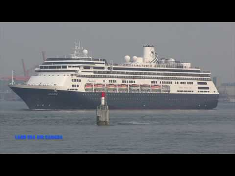 ZAANDAM cruise ship Port of Vancouver Canada 2017