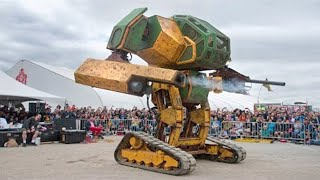 10 Most Incredible Giant Robots in the World