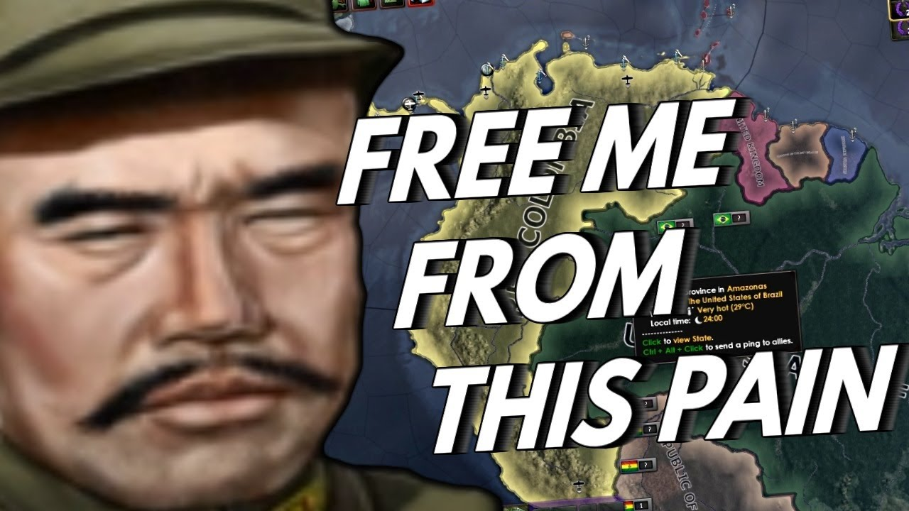 How Colombia Ruined WW2 - Hoi4 A2Z