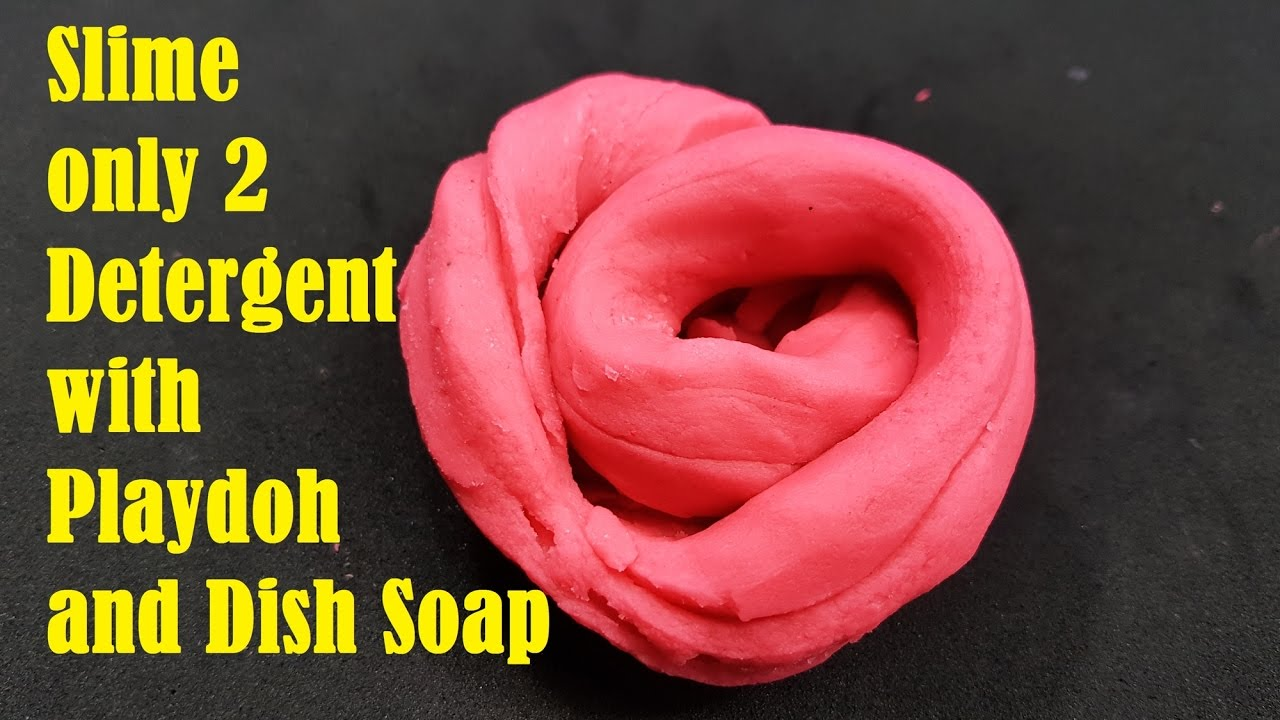 No glue how to make slime only 2 detergent with playdoh and dish how to make slime only 2 detergent with playdoh and dish soap ccuart Image collections