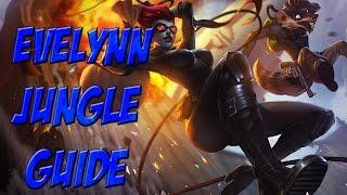Evelynn Jungle Guide Season 5 - League Of Legends