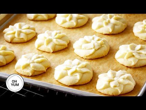 How To Make AMAZING Vanilla Spritz Shortbread!