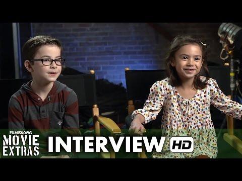 Daddy's Home (2015) Behind the Scenes Movie Interview - Scarlett Estevez & Owen Wilder Vaccaro