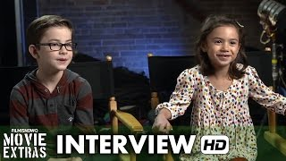 Daddy's Home (2015) Behind the Scenes Movie Interview - Scarlett Estevez & Owen Wilder Vaccaro