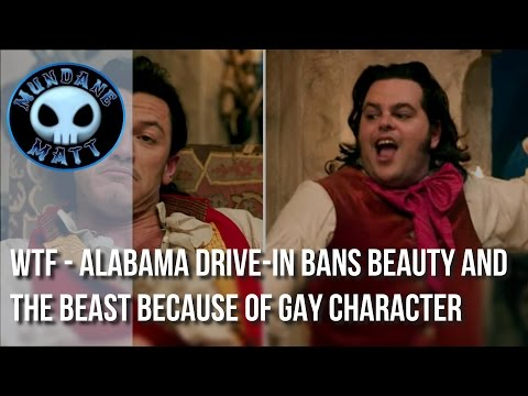[News] WTF - Alabama Drive-In bans BEAUTY AND THE BEAST because of gay character