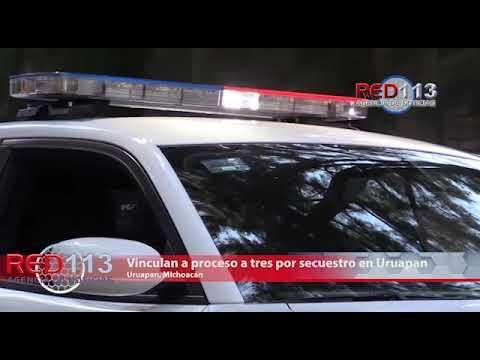 VIDEO Vinculan a proceso a tres por secuestro en Uruapan; dos son ex autodefensas