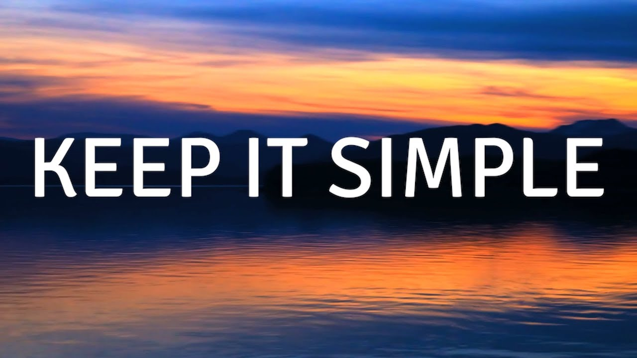 Keep it Simple (Music) A guided meditation for sleep