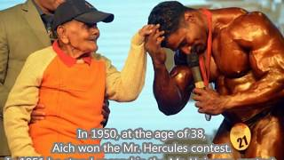 India's Pride! The oldest bodybuilder that have ever lived.[The Pocket Hercules]