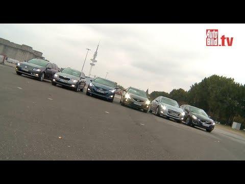Hyundai i40 Co Kombis im Vergleich