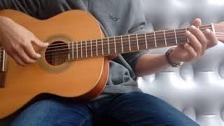 عزف اغنية الف ليلة وليلة على الجيتار