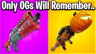 THE HISTORY OF FORTNITE GUNS - RANKING WEAPONS FROM OLDEST TO NEWEST!