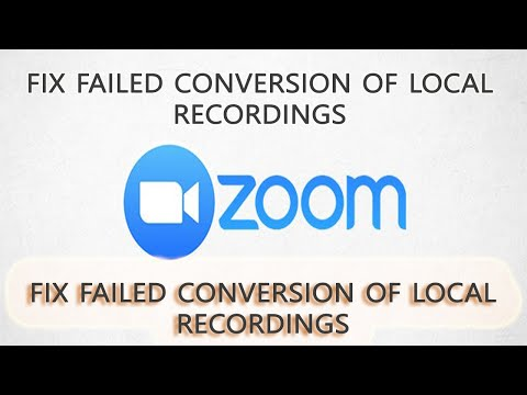 how-to-fix-failed-zoom-conversion-of-local-recordings-|-zoom-recording-won't-convert-|-technology