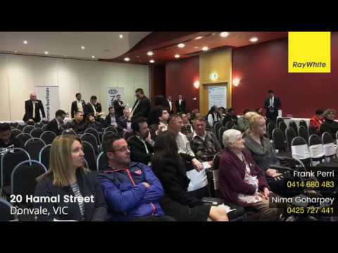 Ray White Manningham In Room Auction Spectacular