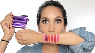 New Shades!! Mirabella Colorfix Lipstick - Review + Swatches | suhaysalim