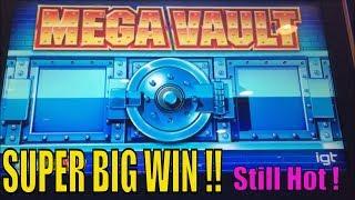 ★SUPER BIG WIN☆Unbelievable ! Still Hot! Mega Vault Slot / Max bet Live Play & $2.80 bet Bonus win☆