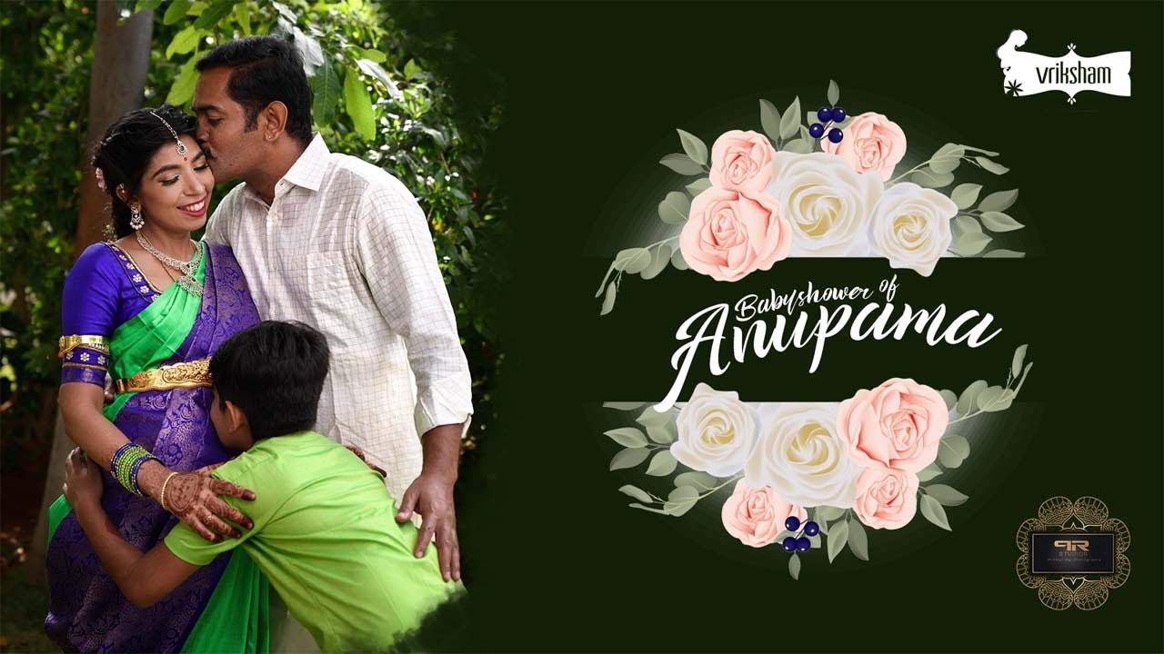 Vijay Anand & Anupama | Vriksham | Babyshower Candid Video | PR Studios | 2019