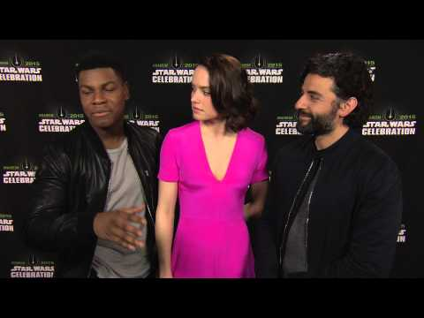 Download Youtube: Star Wars: The Force Awakens: Interview with actors John Boyega, Daisy Ridley, and Oscar Isaac