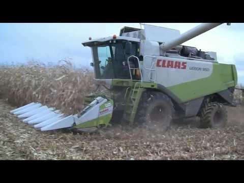 Moissonneuse Batteuse Claas lexion 550 & bec à mais  6 rangs - 2012  Franche Comté