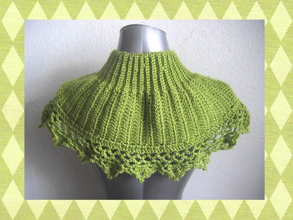 Capelet Shrug Bolero Shawl or Poncho Crochet Pattern.wmv ...