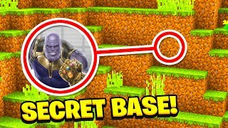 Minecraft : We FOUND THANOS SECRET BASE! (Ps3/Xbox360/PS4/XboxOne/PE/MCPE)