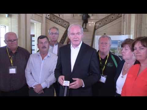 Mary Lou McDonald tribute to Martin McGuinness