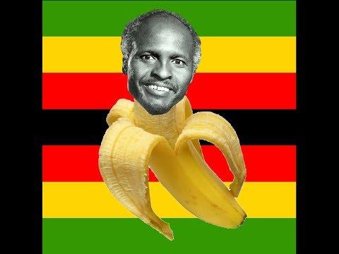 President Banana of Zimbabwe - T.D.H.