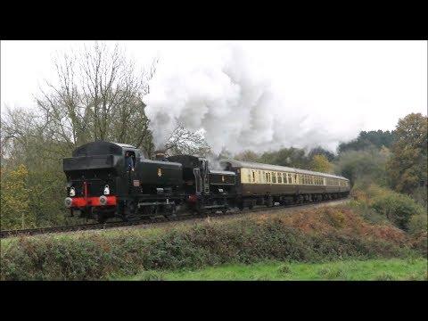 The Valley Rambler   Severn Valley Railway, Saturday 11th November 2017