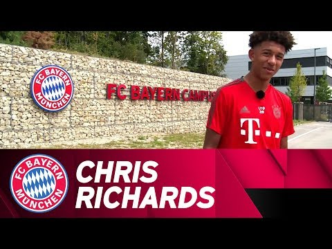 A day with Chris Richards at FC Bayern Campus #FollowMeAroun