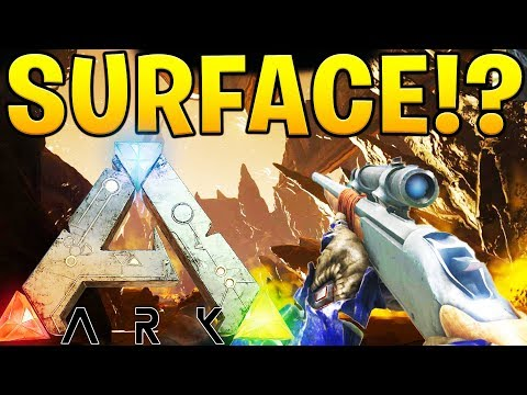 GOING TO THE SURFACE WORLD - ARK SURVIVAL EVOLVED ABERRATION EXPANSION #7
