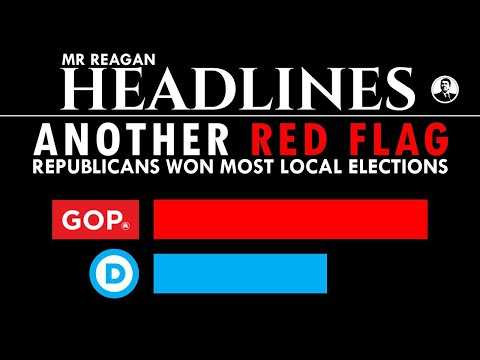 Another Red Flag - Republican Took Most Local Elections