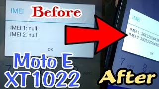 moto E XT1022 flashing and IMEI null solution 100% working with just 1 flash in U.M.T