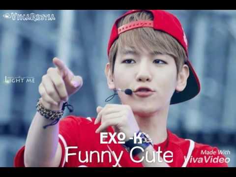 Cute Byun Baekhyun and Funny EXO  YouTube
