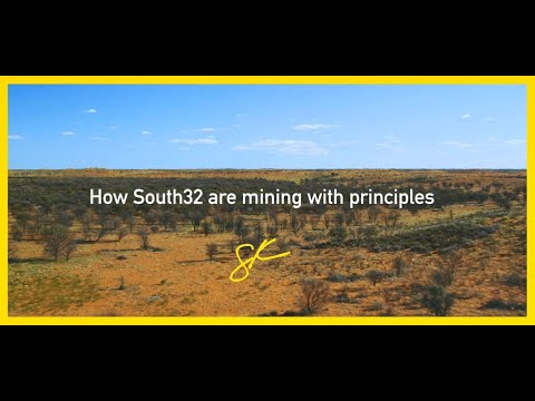 Graham Kerr, CEO Of South32 On Mining With Principles