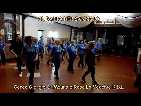 Il ballo del cannolo - Coreo Giorgio Di Mauro e Rosa Lo Vecchio RBL