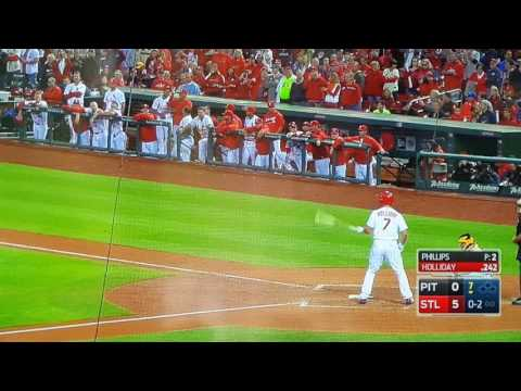 Matt Holliday pinch hit home run September 30 2016