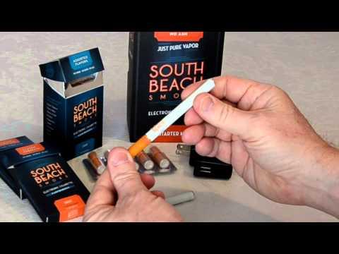 South Beach Smoke Electronic Cigarette | Deluxe Starter Kit