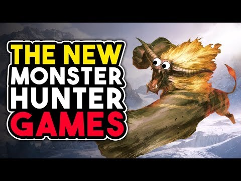 The NEW Monster Hunter Games Were LEAKED - April Fool's Edition thumbnail